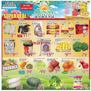 Sunny Food Mart Flyer February 16 - 22, 2018