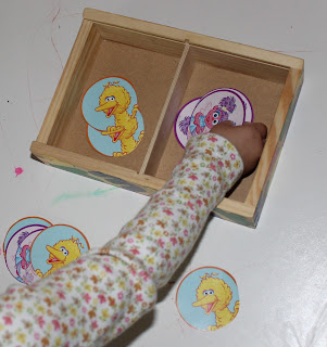 toddler activity sorting