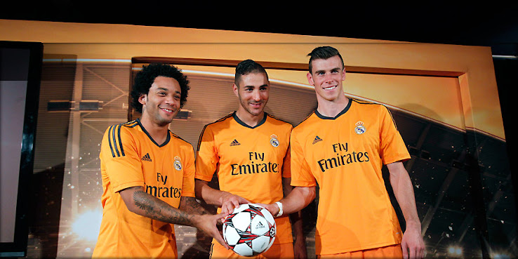 Real Madrid today released the new 13-14 Third (Champions League) Kit 3f53ee8fa
