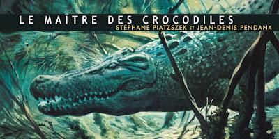 le maitre des crocodiles bd