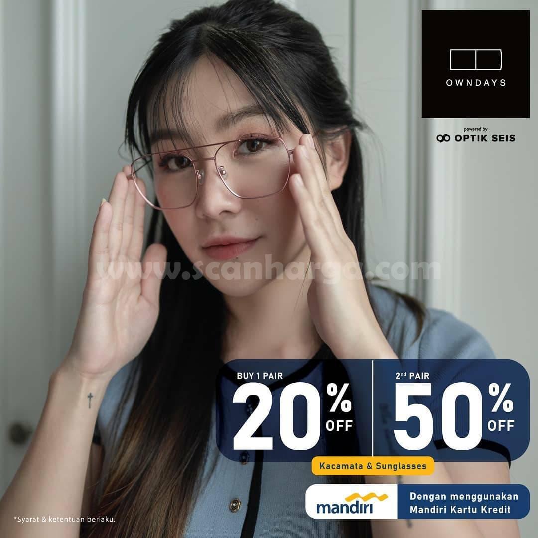 Promo Optik Seis Sale up to 30% + 5% dengan Kartu Kredit & Debit BCA