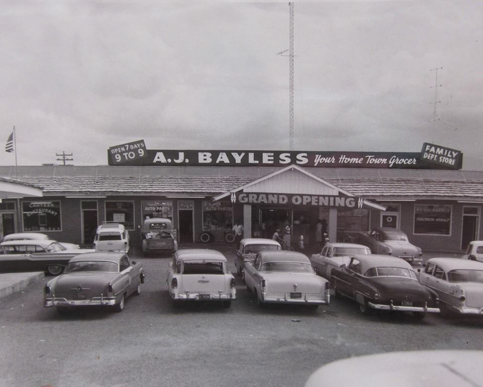 Grand Opening Of Sierra Vistau0027s A. J. Bayless In July 1958