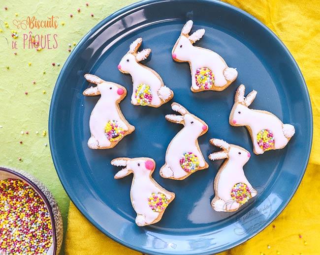 recette biscuits lapin de paques