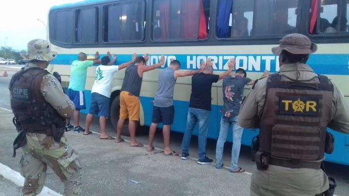 POLÍCIA NAS ESTRADAS | Operação conjunta na BA 262 reprime tráfico de drogas