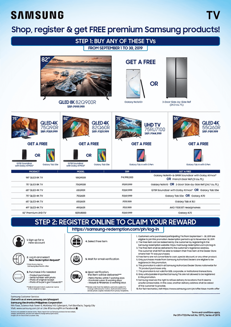 Samsung Blue Month offer is soon to end
