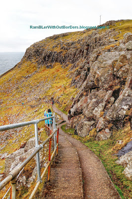 Staircase, Neist Point, Isle of Skye, Scotland, UK