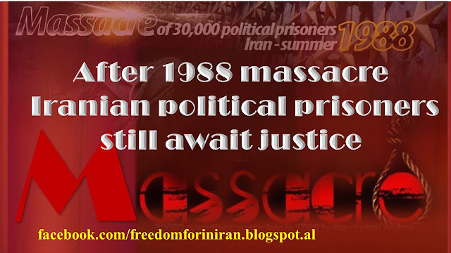 After 1988 massacre, Iranian political prisoners still await justice