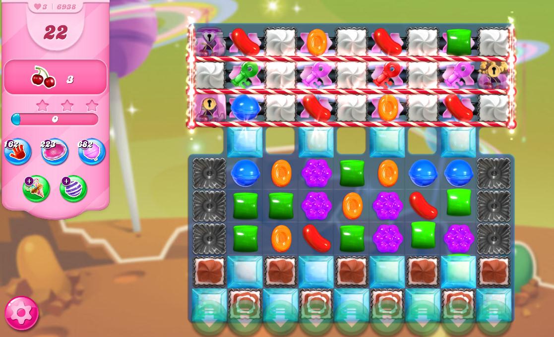 Candy Crush Saga level 6938