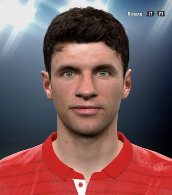 PES 2016 Thomas Müller Face by kairzhanov