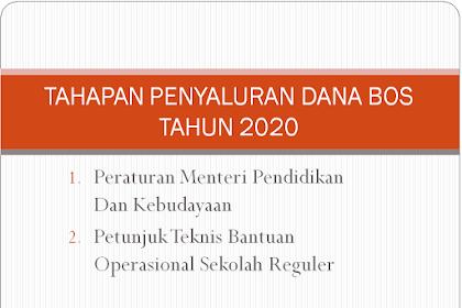 Tahapan Penyaluran Dana BOS 2020: Januari, April, September