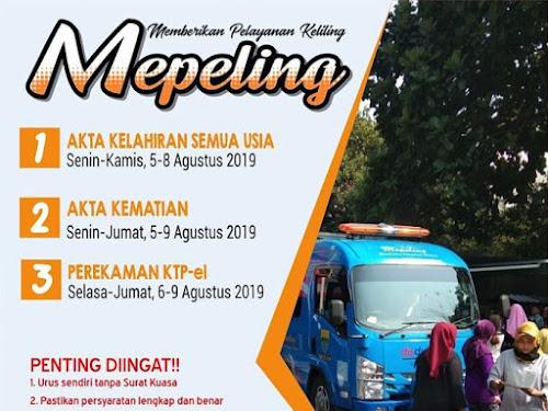 Jadwal Mepeling Kota Bandung Agustus 2019