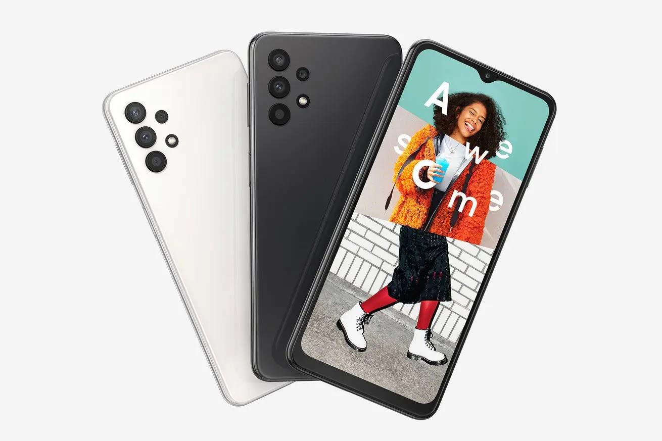 سامسونج تعلن عن Galaxy A32 5G .. أرخص هاتف يدعم 5G
