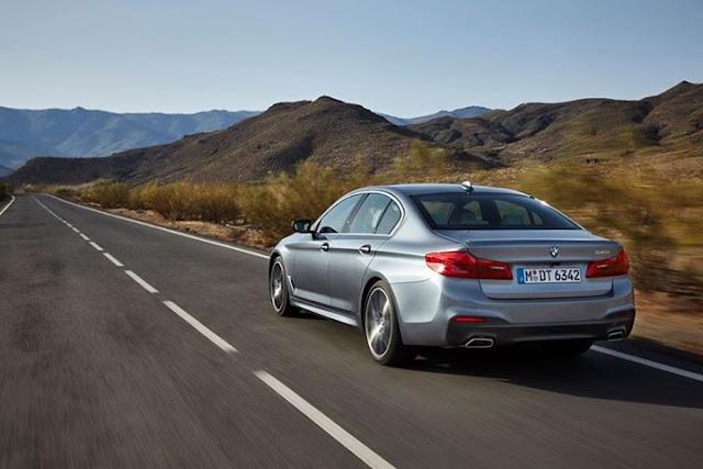 Voici la toute nouvelle BMW Série 5 ( Photos)