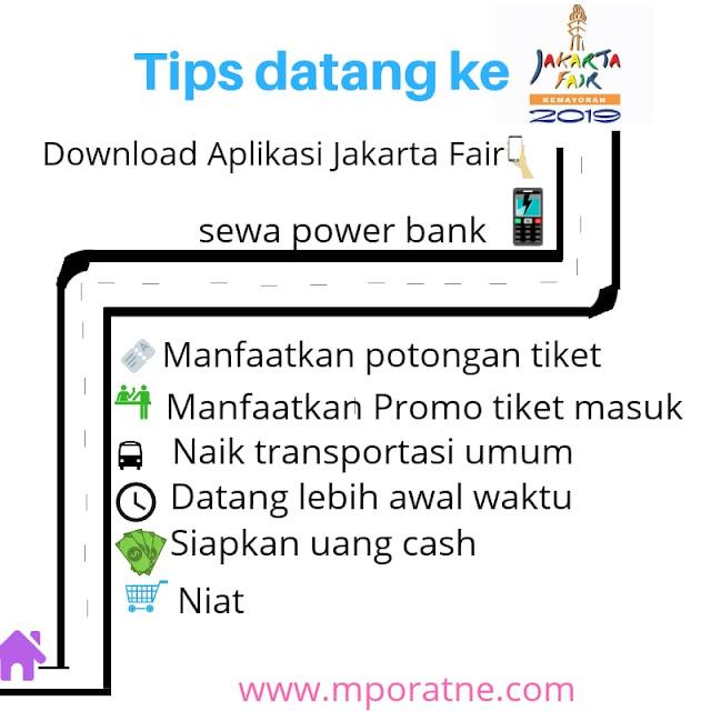Tips sebelum datang ke Jakarta Fair 2019