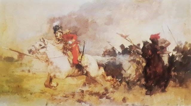 Carga de José Antonio Páez y el Negro Primero, por Arturo Michelena
