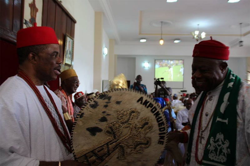 Photos from the 15th Ofala Festival of Obi of Onitsha, Igwe Achebe