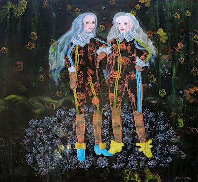 Feral Friends (2018), Anne Siems