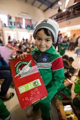 Shoebox recipient