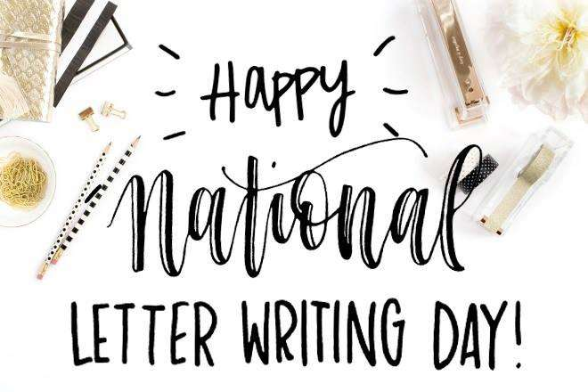 National Letter Writing Day Wishes pics free download