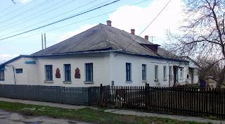 Миргород. Дом, в котором жили архитектор А. Г. Сластион и доктор И. А. Зубковский