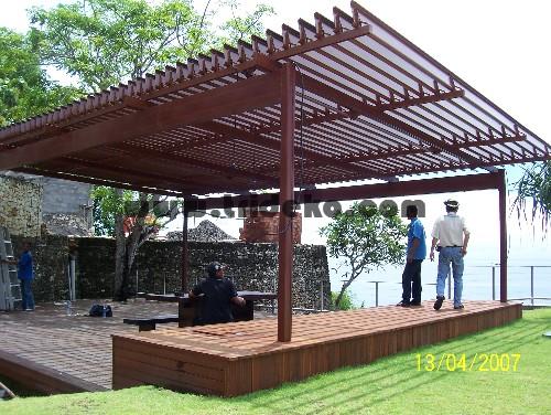 Konsep 26 Atap Rumah Gazebo