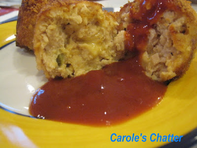 Chicken Ball Surprise by Carole's Chatter