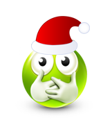 Christmas Smiley Icon 5