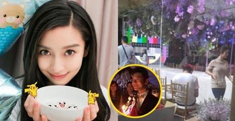 Huỳnh Hiểu Minh tổ chức tiệc sinh nhật mộng ảo cho bà xã AngelaBaby