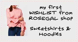ROSEGAL | Sweatshirts & Hoodies | First Wishlist from ROSEGAL