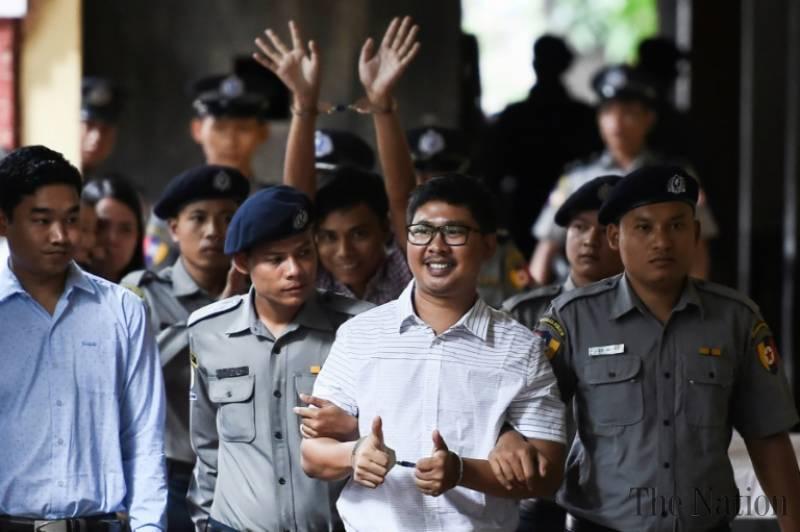 Reuters Kecewa dengan Putusan Hakim Myanmar