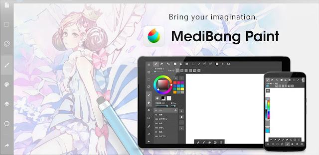 تنزيل MediBang Paint - Make Art  تطبيق الرسم الاحترافي والرسوم الهزلية لنظام الاندرويد