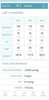 افضل برامج لقياس ضغط الدم لاندرويد والآيفون Blood Pressure Companion