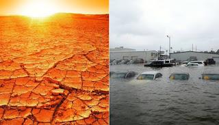 Científicos prevén olas de calor y lluvias torrenciales más largas por cambio climático.