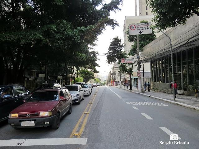 Vista de trecho da Avenida Brigadeiro Luís Antônio no Jardim Paulista - São Paulo