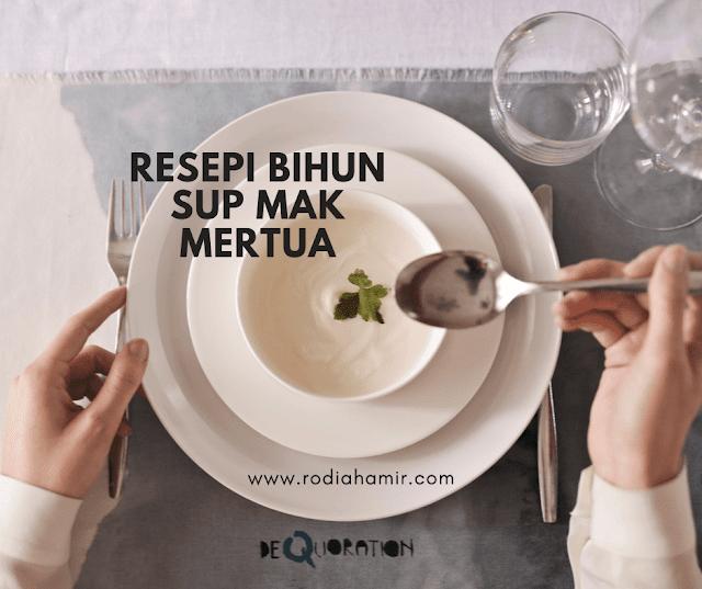Resepi Bihun Sup Simple