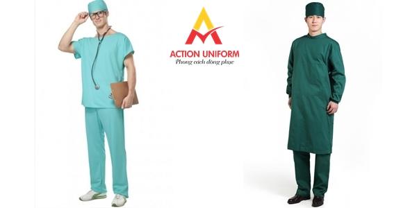 Mẫu đồng phục bác sĩ phòng mổ 1