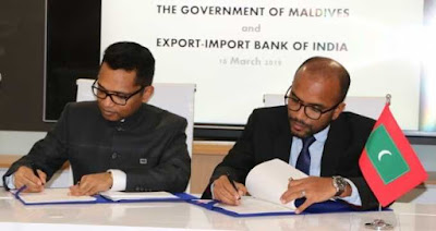 Maldives and EXIM Bank Signed MoU