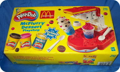 Play-Doh McDonalds McFlurry Dessert Playshop