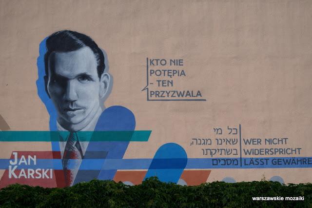 Warszawa Warsaw Praga Północ murale warszawskie kamienica street
