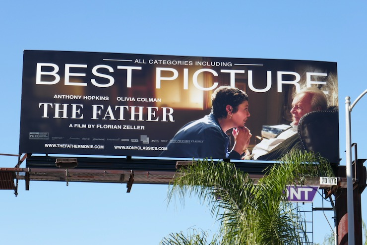 Father Best Picture FYC billboard