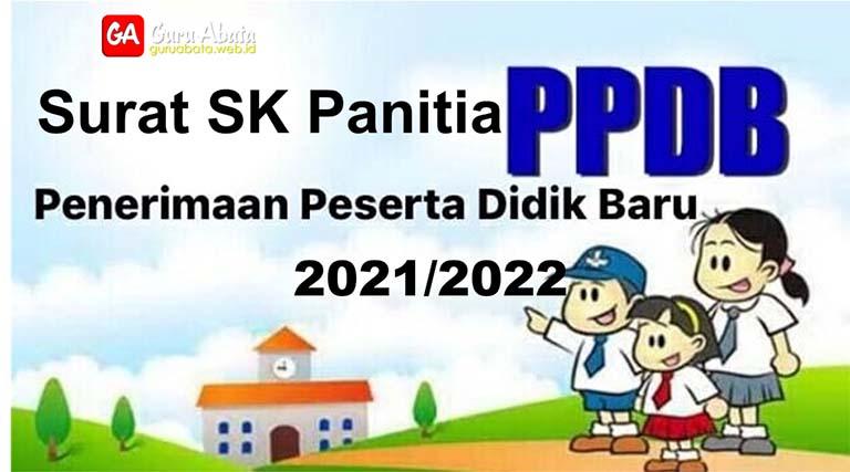 surat sk panitia ppdb terbaru