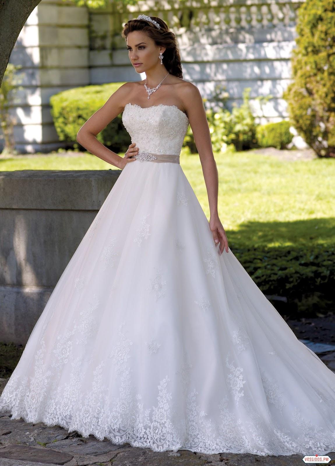 Modelos de vestidos para novia