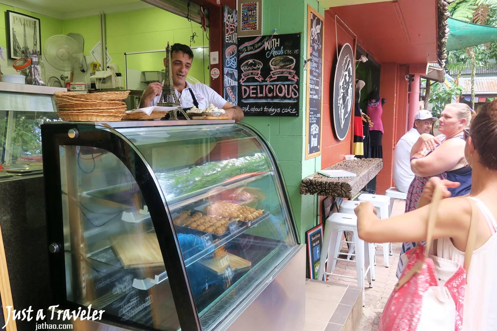 凱恩斯-庫蘭達-景點-庫蘭達雨林市集-自由行-旅遊-澳洲-Cairns-Kuranda-Market-Travel-Tourist-Attraction-Australia