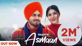 Checkout New Song Asmaan Lyrics penned by Manjinder chandi & sung by Raavi