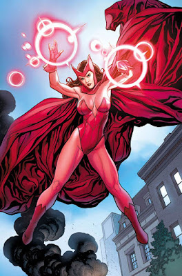 frank cho scarlet witch art