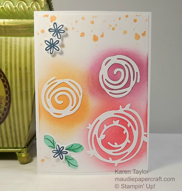 Stampin' Up! Swirly Bird card
