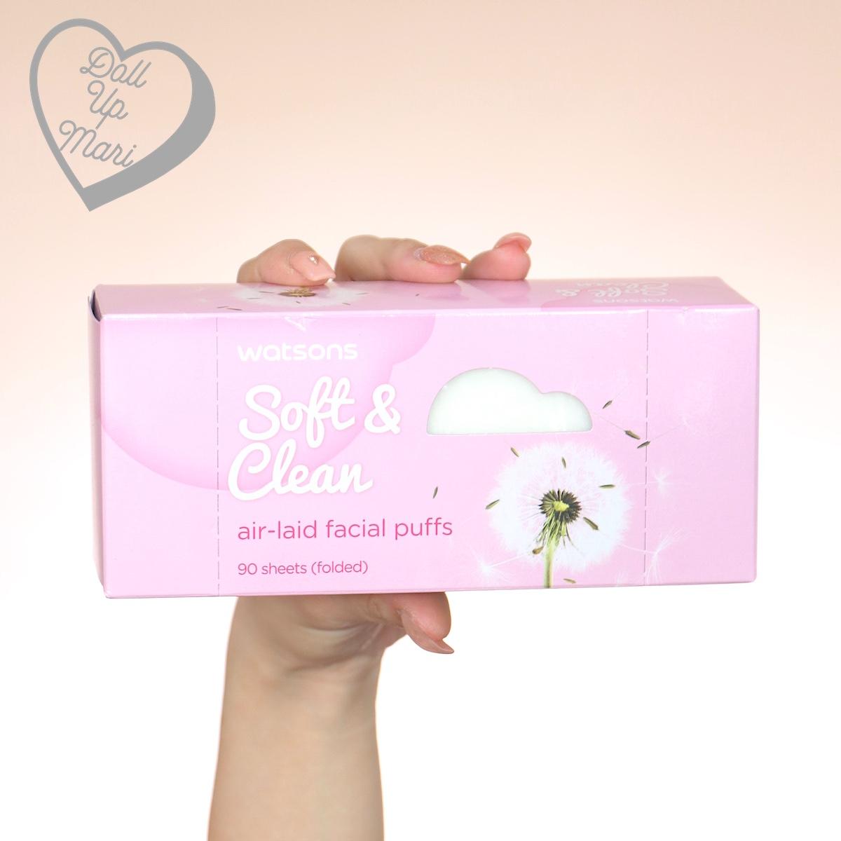 Watsons Soft & Clean Air Laid Puffs