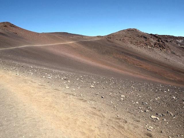 desert on Hawaii Mountain