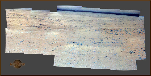 Sol 49 Curiosity Left Mastcam (M-34) Journey to Glenelg