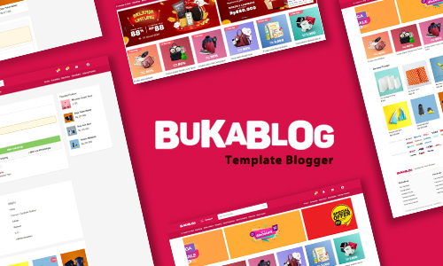 BukaBlog eCommerce